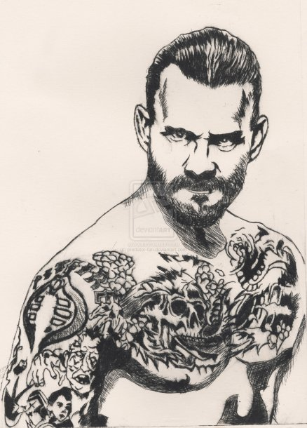 cm_punk_by_predator_fan-d4whe0v